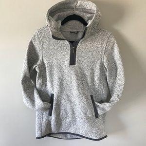 lululemon athletica Tops - Lululemon WARM quarter zip sweatshirt with HOOD